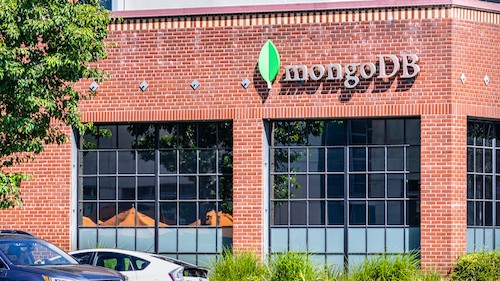 July 30, 2019 Palo Alto / Ca / Usa Mongodb Hq In Silicon Valley; Mongodb Inc. Is An American Software Company That Develops And Provides Commercial Support For The Open Source Mongodb