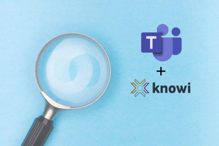 Knowi+teams Blog